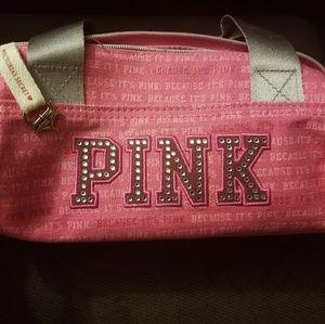 PINK brand Bling Make Up bag